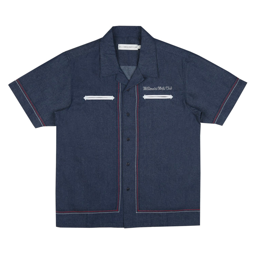 DENIM BOWLING SHIRT
