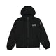 REVERSIBLE HOODED JACKET / BLACK / S