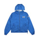 REVERSIBLE HOODED JACKET / BLUE / S