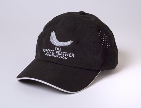 Embroided Microfiber Cap by Fahrenheit - Black