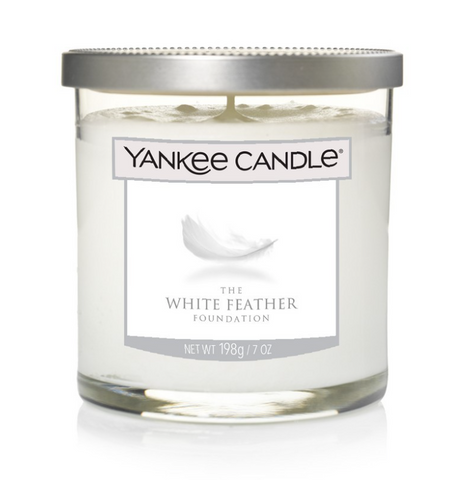 Yankee Decor Small Pillar Candle - Clean Cotton