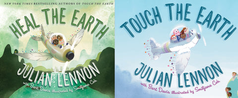 Touch The Earth & Heal The Earth Book Collection