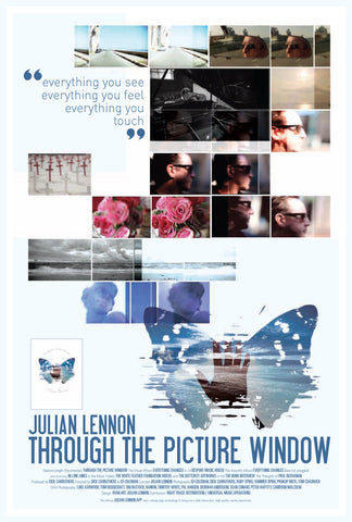 Julian Lennon (Through The Picture Window 3) Poster