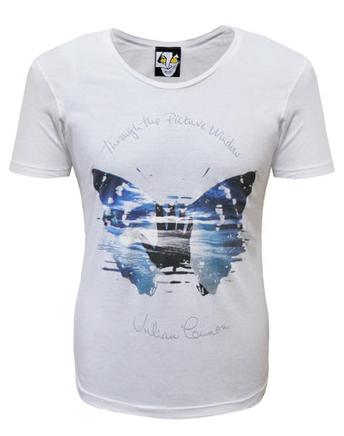Julian Lennon (Through The Picture Window) White Scoop Neck T-Shirt