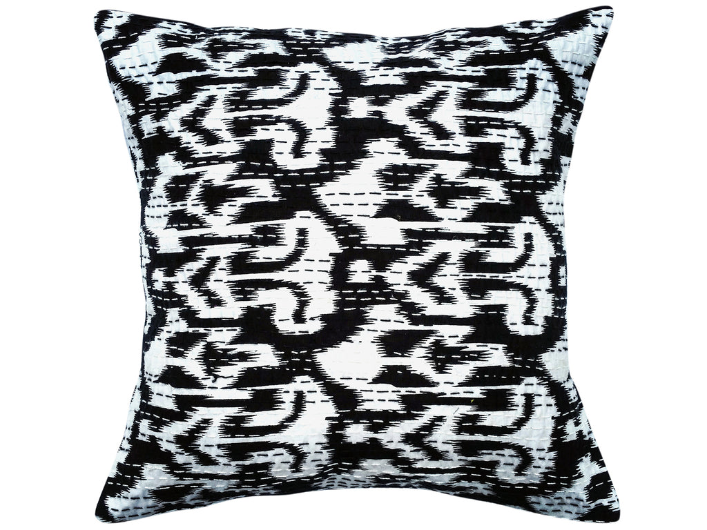 Ikat<br>Hand-embroidered