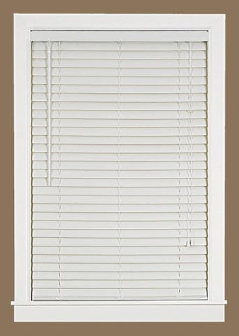 Park Avenue Collection Luna 2 inch  Vinyl Venetian Blind with 2 in. Valance 32x64 - White