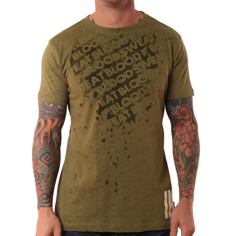BSB SS REACTIVE TEE OLIVE