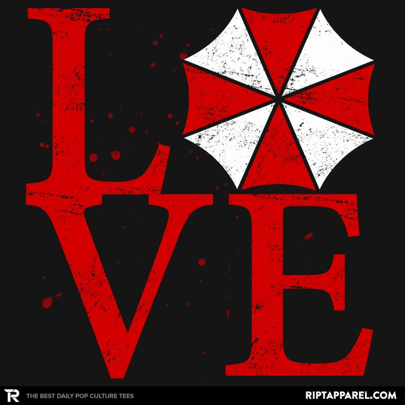Umbrella Love Exclusive - Dead Pixels - RIPT Apparel