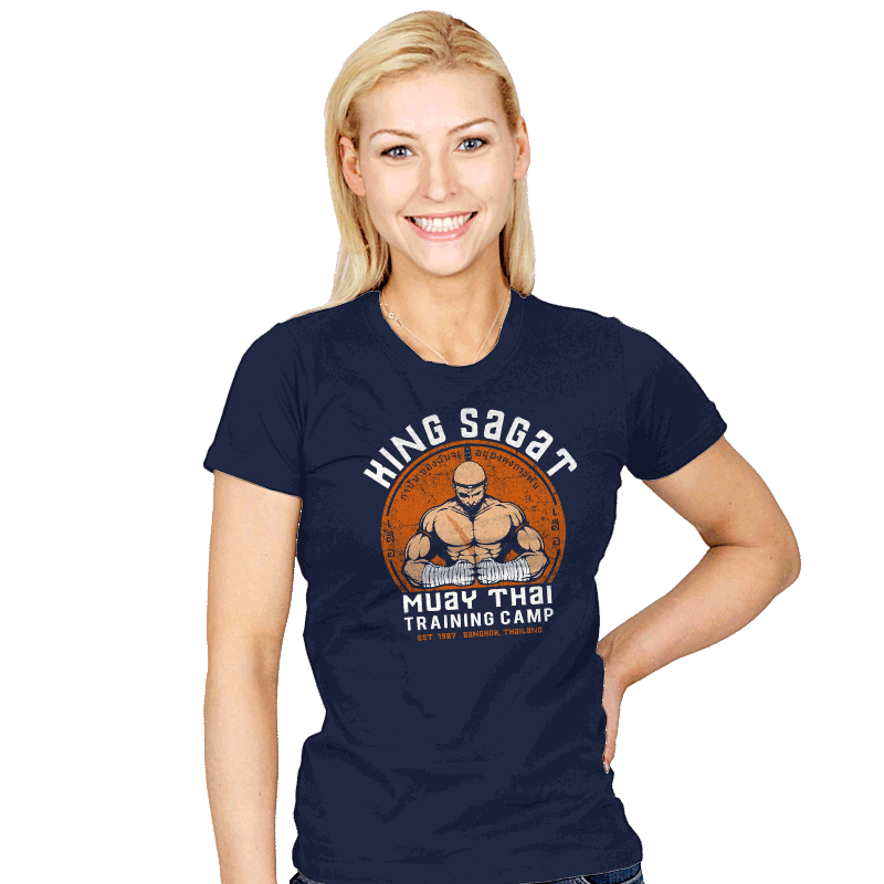 Muay Thai Camp - Womens - T-Shirts - RIPT Apparel