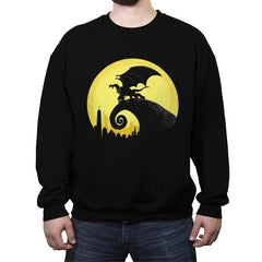 Gargoyles Before Christmas - Crew Neck Sweatshirt - Crew Neck Sweatshirt - RIPT Apparel