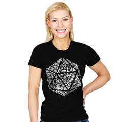 Roll Player  - Womens - T-Shirts - RIPT Apparel
