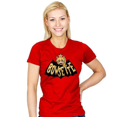 BowsetteMan - Womens - T-Shirts - RIPT Apparel