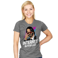Internet Boyfriend - Womens - T-Shirts - RIPT Apparel