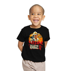 Red Galactic Marshall II - Youth - T-Shirts - RIPT Apparel