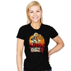 Red Galactic Marshall II - Womens - T-Shirts - RIPT Apparel
