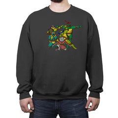 Turtle Force - Crew Neck Sweatshirt - Crew Neck Sweatshirt - RIPT Apparel