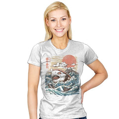 Sharkiri Sushi - Womens - T-Shirts - RIPT Apparel