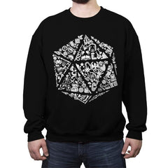 Roll Player  - Crew Neck Sweatshirt - Crew Neck Sweatshirt - RIPT Apparel