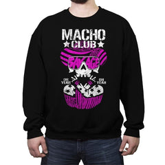 MACHO CLUB Exclusive - Crew Neck Sweatshirt - Crew Neck Sweatshirt - RIPT Apparel