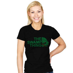 The Swamp Face - Womens - T-Shirts - RIPT Apparel