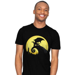 Gargoyles Before Christmas - Mens - T-Shirts - RIPT Apparel