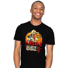 Red Galactic Marshall II - Mens - T-Shirts - RIPT Apparel