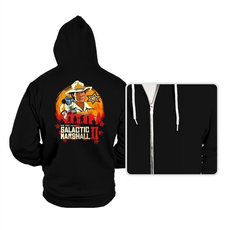 Red Galactic Marshall II - Hoodies - Hoodies - RIPT Apparel