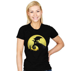 Gargoyles Before Christmas - Womens - T-Shirts - RIPT Apparel