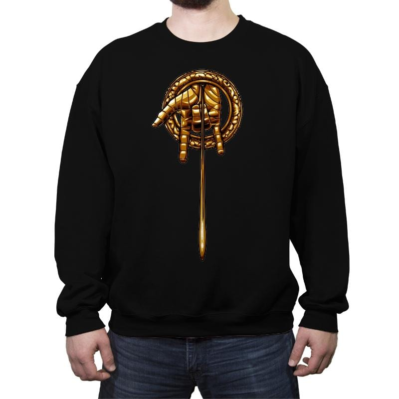 Hand of the Thwip - Crew Neck Sweatshirt - Crew Neck Sweatshirt - RIPT Apparel
