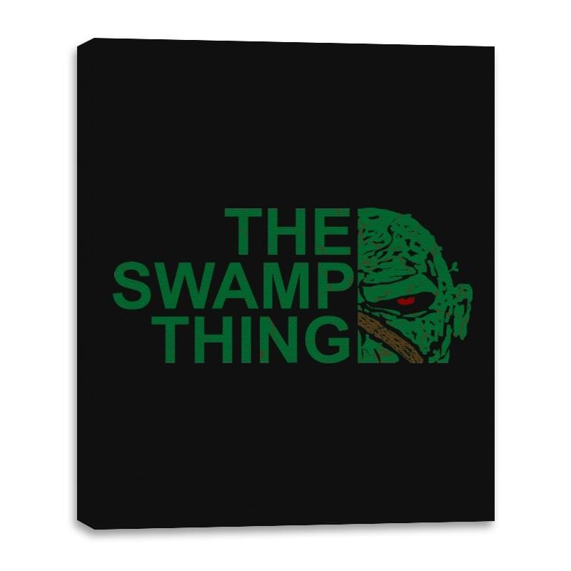 The Swamp Face - Canvas Wraps - Canvas Wraps - RIPT Apparel