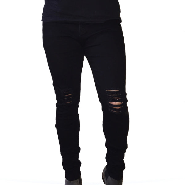 RD Distressed Jeans Black - Reality Dreams - 1