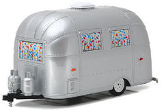 #18410B 1/24 Airstream 16' Bambi Trailer with Curtains