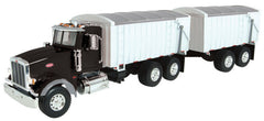 #46733 1/16 Peterbilt Model 367 with Grain Box & Grain Pup Trailer