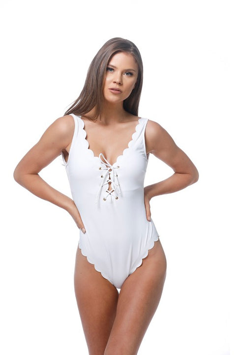 Got a crush on you swim one piece - Breath of Youth Clothing