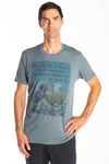 MENS SHORT SLEEVE CREW TEE WITH BRUCE LEE - Third Eye Threads