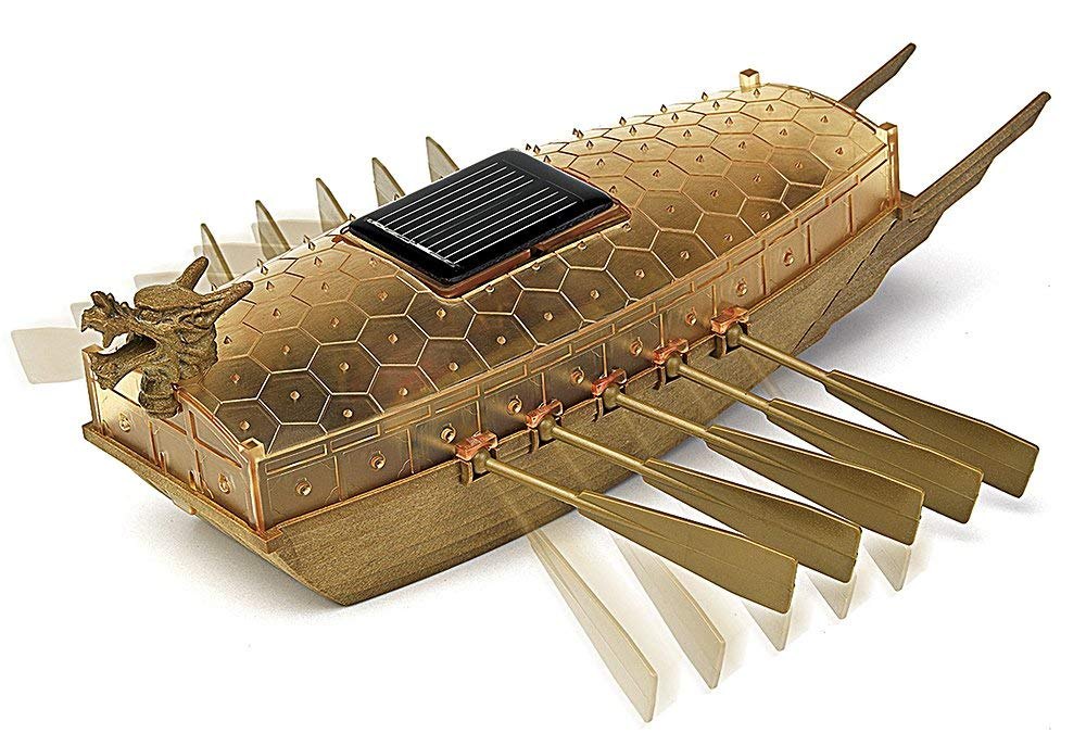 Academy Models Solar Powered Turtle Ship 18135 - shore-line-hobby