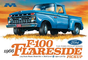 Moebius 1966 Ford Flareside Pickup 1/25 1232 Plastic Model Kit - shore-line-hobby