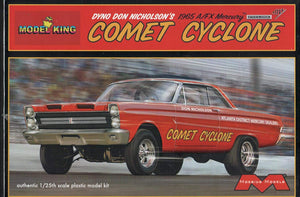 Dyno Don Nicholson's 1965 A/FX Mercury Comet Cyclone Drag Car (Ltd Prod) 1/25 Moebius/Model King - shore-line-hobby