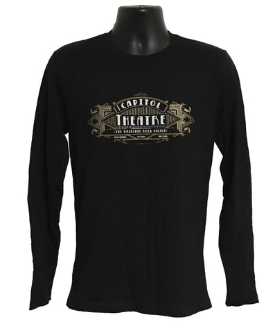 Art Deco Long Sleeve Tee
