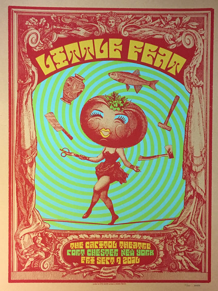 Little Feat Sept 9, 2016 Poster