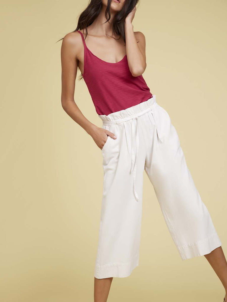 Nation LTD Sookie Trouser in Dirty White