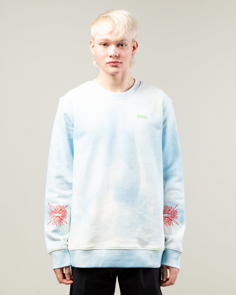 Cosmic Workshop Sweater Blue