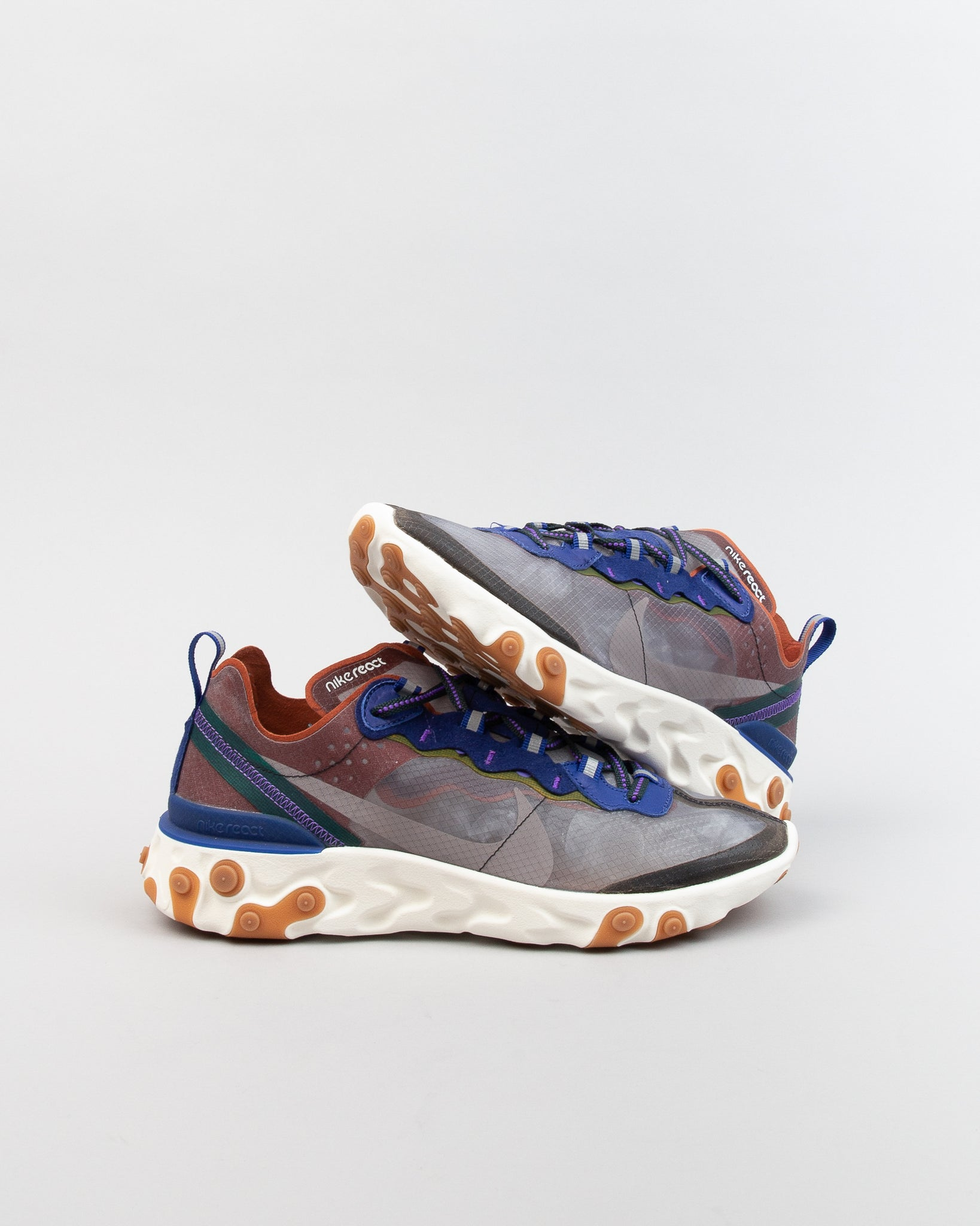 React Element 87 Dusty Peach/Atmosphere Grey