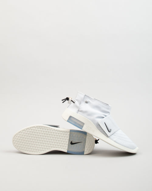Air Fear of God Moc Strap Pure Platinum/Black/Sail 2