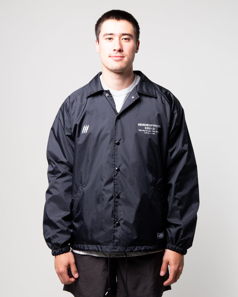 Brooks Nylon Jacket Black