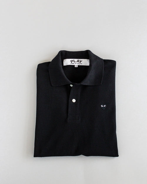 Women's Polo Shirt Black 1