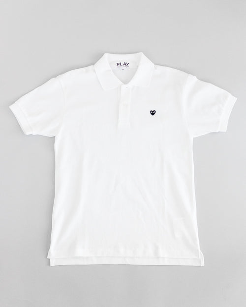 Women's Polo Shirt White 2
