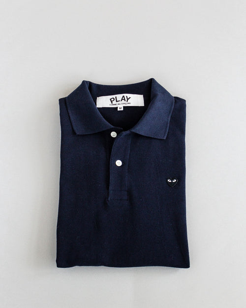 Women's Polo Shirt Navy 1