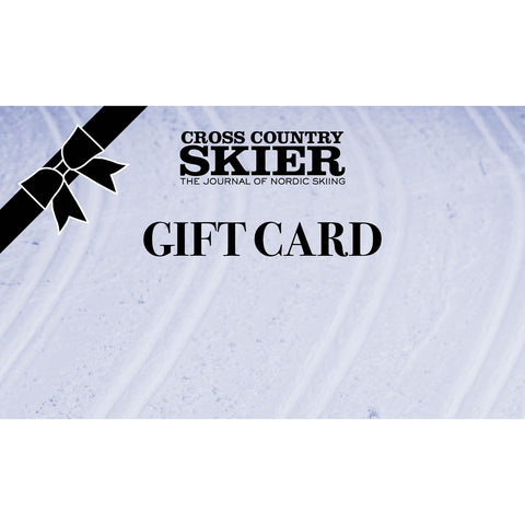 Cross Country Skier Gift Card