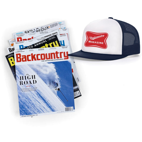 Backcountry Subscription & High Life Hat